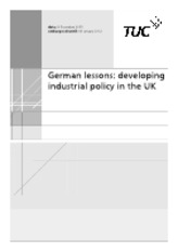 German lessons Developing Industrial policy in the UK