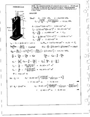 1277_Mechanics Homework Mechanics of Materials Solution