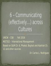S&M 6 - Communicating across Cultures.pptx