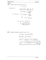 Math 121 Test 3 Version 1 Solutions