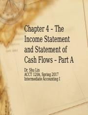 Chapter 4 Part A-1 Spring 2017 (Bb)