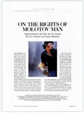 P2 On the Rights of Molotov Man