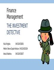 THE INVESTMENT DETECTIVE wew ver-3