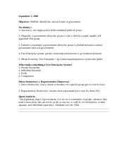Unit 1 Lesson 2 Forms of Government.Teachers Guide.docx