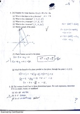 Exam 1 Part 1 NO calculator