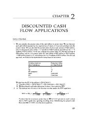 Solutions for Discounted cash flow problems.pdf
