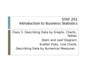 03 Describing Data Graphically and Numerically Part 2