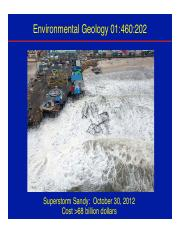 1. Geology and the Environment