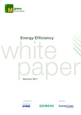 Green Monday Energy Efficiency White Paper. Summer 2011.