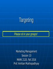 session 10 _ targeting