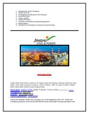 GA - Jindal Steel and Power Ltd.docx