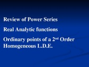 09 Power Series Solutions1