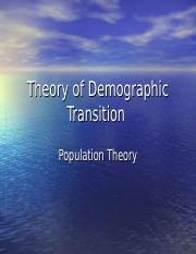 Theory of Demographic Transition-2016.ppt