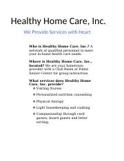 Healthy Home Care fact sheet.docx
