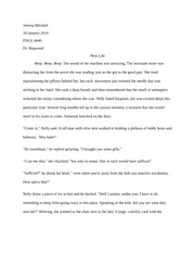 ENGL 4640- New Life- Short Story