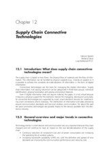 Essentials of Logistics and Management by Jaffeux 3e Chap 12