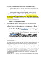 ACCT 1010 – Accounting Principles I Exam II Review Sheet Chapters 4.docx