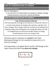 4 Law of conservation of Energy.doc