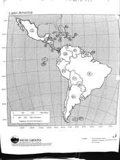 Latin American Map Study Guide
