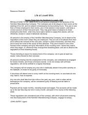 Module 4 Documents - Life at Lowell Mills(1).pdf