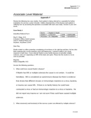 Week 8 Assignment-Appendix F-Nervous system Diseases Worksheet