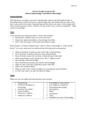 phil201 study guide lesson 10 essay Plato's descartes, and the mattrix philosophy 201 study guide: lesson 4 a little logic lesson overview logic is the primary tool or methodology in studying philosophy.