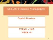 Week 8 - Capital Structure.pptx