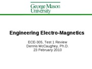 ECE-305 Test1 Review