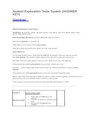 Student Exploration- Simple Harmonic Motion (ANSWER KEY ...