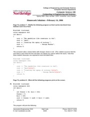 Homework 2 Solution on Computing in Engineering and Science