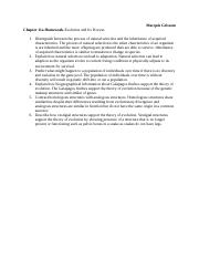 Chapter 11a Homework-Evolution and Its Process-1.docx