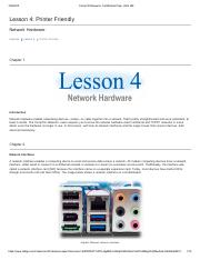 Lesson 4_Network Hardware