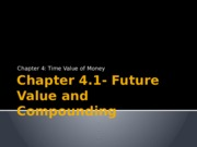 Chapter 4.1 Future Value and Compounding.pptx