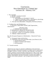 120 Lecture Outline 39