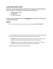 Chapter 3 - Additional Problem