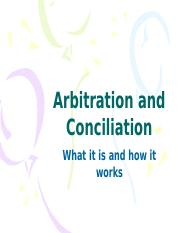 ADR 3 - Arbitration and Conciliation(1).pptx