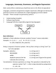 02. Languages, Automata, Grammars and Regular Expressions(1).pdf