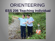 Orienteering Intro PP :STUDENT Project
