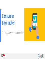 Consumer Barometer Country Report '15 - Indonesia