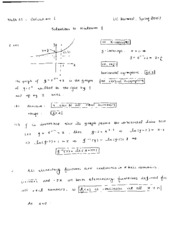 Math21 Exam 1 Spring 2007 Solutions