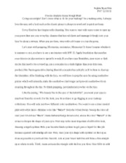 Process Analysis Essay Rough Draft