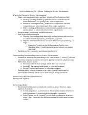 Service Marketing Ch 10 Notes.docx