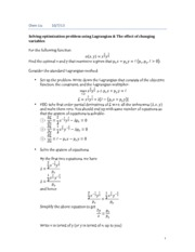 introduction to lagrangian