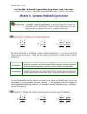 Module4_Complex_Rational_Expressions