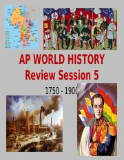 WHAP AP Review 1750-1900 Session 5 2012.pptx
