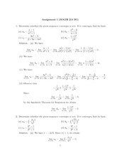 Math 214 Assignment 1