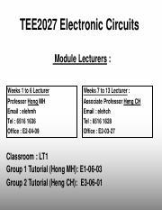 TEE2027_0_Module_Information pdf - TEE2027 Electronic