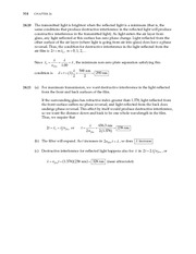 12_Ch 24 College Physics ProblemCH24 Wave Optics