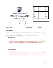 CPSC 313 MT2 - Summer 2016_solutions
