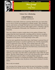 MEIN KAMPF by Adolf Hitler: Volume 1, Chapter 11 - Nation and Race